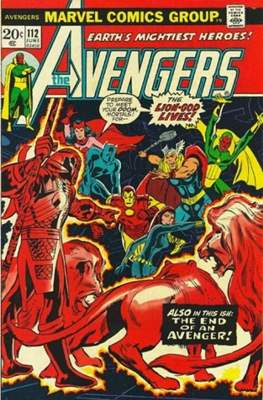 The Avengers Vol. 1 (1963-1996) (Comic Book) #112