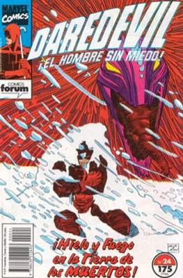 Daredevil Vol. 2 (1989-1992) (Grapa 32 pp) #24