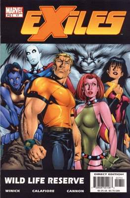 Exiles Vol. 1 (2001-2008) (Comic Book) #17