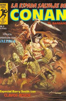 La Espada Salvaje de Conan. Vol 1 (1982-1996) (Grapa. B/N.) #8
