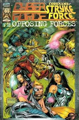 Cyberforce / Codename: Stryke Force. Opposing Forces (Grapa 32 pp) #1