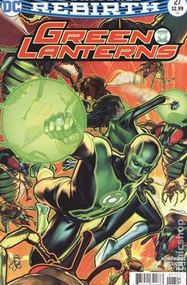 Green Lanterns (Vol. 1 2016-... Variant Covers) (Comic Book) #27