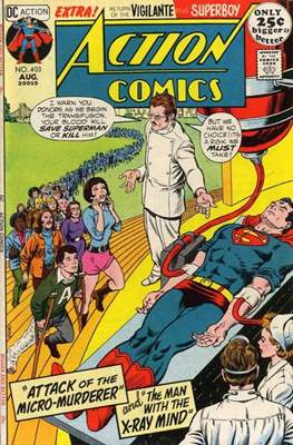 Action Comics Vol. 1 (1938-2011; 2016-) (Comic Book) #403