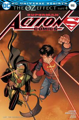 Action Comics Vol. 1 (1938-2011; 2016-) (Comic Book) #990