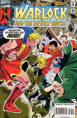 Warlock and the Infinity Watch (Comic-Book) #35