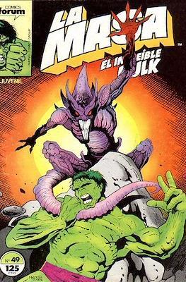 La Masa. El Increíble Hulk (Grapa 36-32 pp) #49