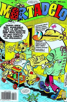 Mortadelo (1987-1991) (Grapa) #184
