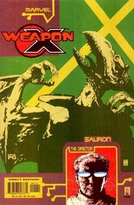 Weapon X: The Draft featuring Sauron