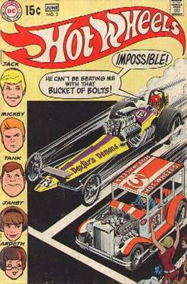 Hot Wheels (Comic Book) #2