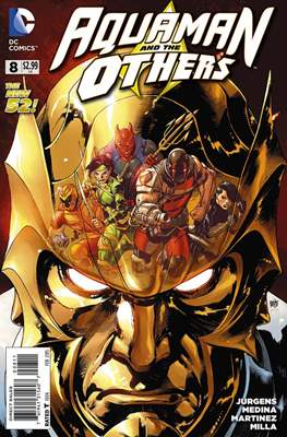 Aquaman and The Others (2014-2015) #8