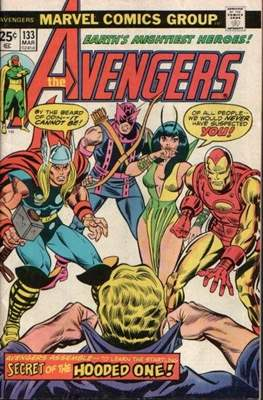 The Avengers Vol. 1 (1963-1996) (Comic Book) #133