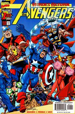 The Avengers Vol. 3 (1998-2004) (Comic-Book) #1