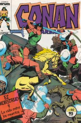 Conan el Bárbaro (1983-1994) (Grapa. 19x27. 36/32/24 páginas. Color.) #50