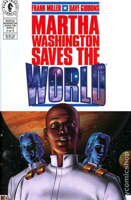 Martha Washington Saves the World (Grapa) #2