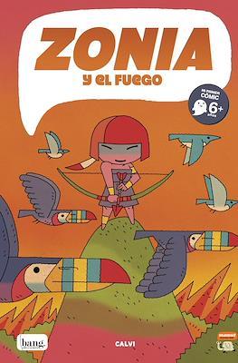 Zonia y el fuego (Rústica 48 pp)