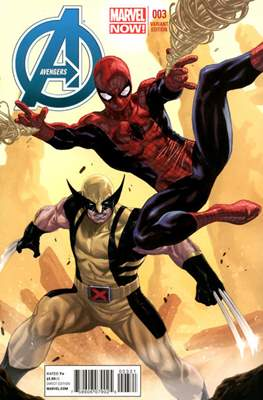 Avengers Vol. 5 (2013-2015 Variant Covers) (Comic Book) #3
