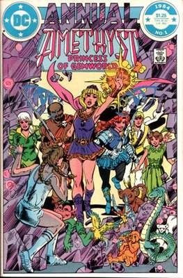 Amethyst Princess of Gemworld Annual