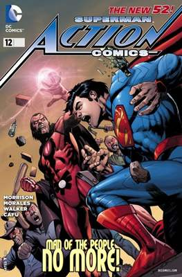 Action Comics Vol. 2 (2011-2016) (Grapa) #12
