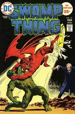 Swamp Thing (1972 1st Series) (Comic Book. 1972 - 1976) #15