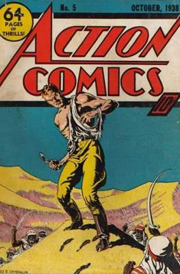 Action Comics Vol. 1 (1938-2011; 2016-) (Comic Book) #5