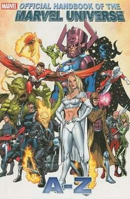 Official Handbook of the Marvel Universe A-Z #4