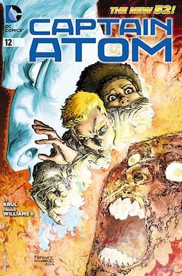 Captain Atom The New 52! (2011-2012) #12