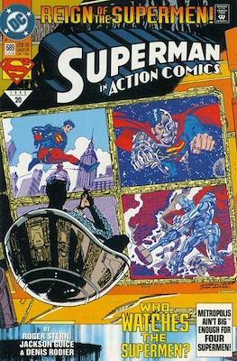 Action Comics Vol. 1 (1938-2011; 2016-) (Comic Book) #689