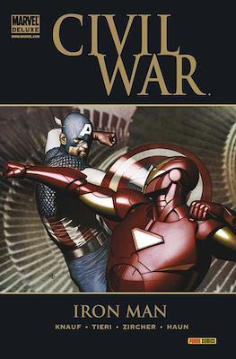Iron Man. Civil War. Marvel Deluxe