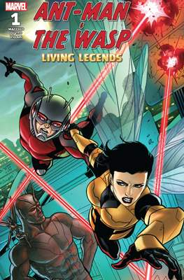 Ant-Man & The Wasp: Living Legends (Comic Book) #1
