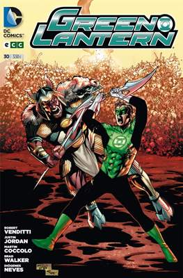 Green Lantern. Nuevo Universo DC / Hal Jordan y los Green Lantern Corps. Renacimiento (Grapa) #30