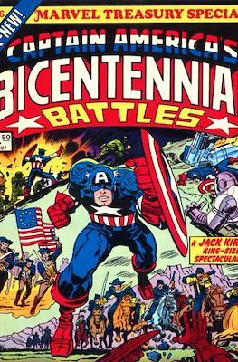 Marvel Treasury Special Featuring Captain America's Bicentennial Battles