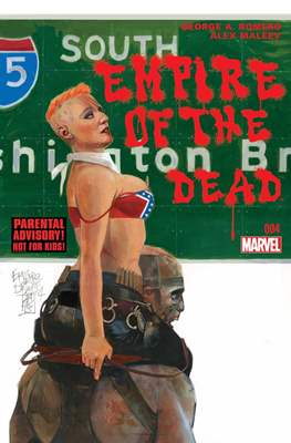 George A. Romero Empire of the Dead (comic-book) #4