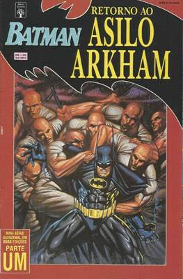 Batman - Retorno Ao Asilo Arkham (Grapa. 52 pp) #1