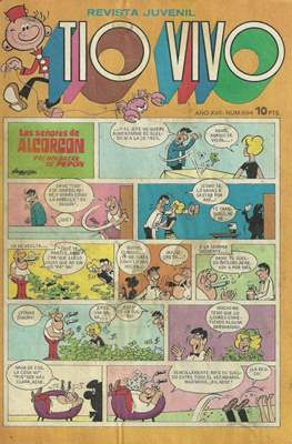 Tio Vivo. 2ª época (1961-1981) (Grapa) #694