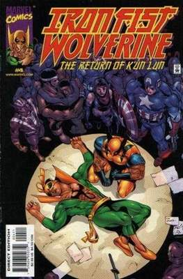 Iron Fist: Wolverine - The Return of K'un Lun (Comic Book) #4