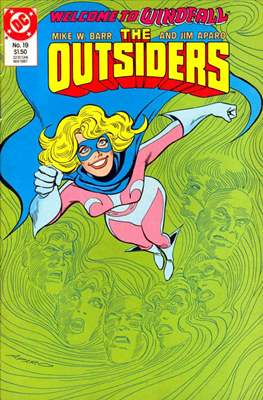 The Outsiders (1985-1988) (Comic Book) #19