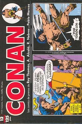 Conan. Los daily-strip comics (1989) (Grapa 48 pp) #12
