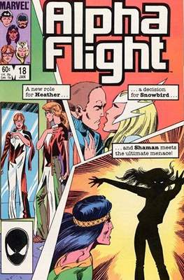 Alpha Flight Vol. 1 (1983-1994) (Comic Book) #18