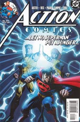 Action Comics Vol. 1 (1938-2011; 2016-) (Comic Book) #819