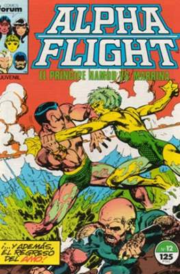 Alpha Flight vol. 1 / Marvel Two-in-one: Alpha Flight & La Masa vol.1 (1985-1992) (Grapa 32-64 pp) #12