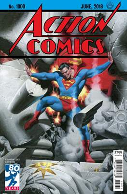 Action Comics Vol. 1 (1938-2011; 2016-... Variant Covers) (Comic Book) #1000.18