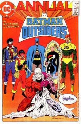 Batman & the Oustiders Annuals #2