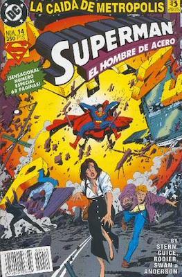 Superman. El hombre de acero (Grapa 48 pp) #14