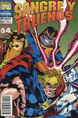 Sangre y Truenos (1994-1995) (Grapa. 17x26. 48/64 páginas. Color) #6