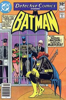 Detective Comics Vol. 1 (1937-2011; 2016-) (Comic Book) #497