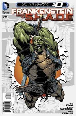 Frankenstein: Agent of S.H.A.D.E. (Comic book) #0