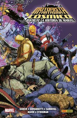 Motorista Fantasma Cósmico Destruye la Historia de Marvel. 100% Marvel HC (Cartoné 136 pp) #