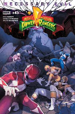 Mighty Morphin Power Rangers (Comic Book) #43