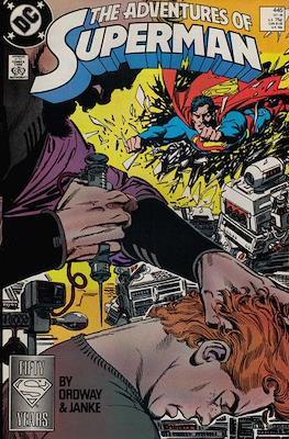 Superman Vol. 1 / Adventures of Superman Vol. 1 (1939-2011) (Comic Book) #445