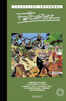 Colección Integral F.Ibáñez (Cartoné 200 pp) #60